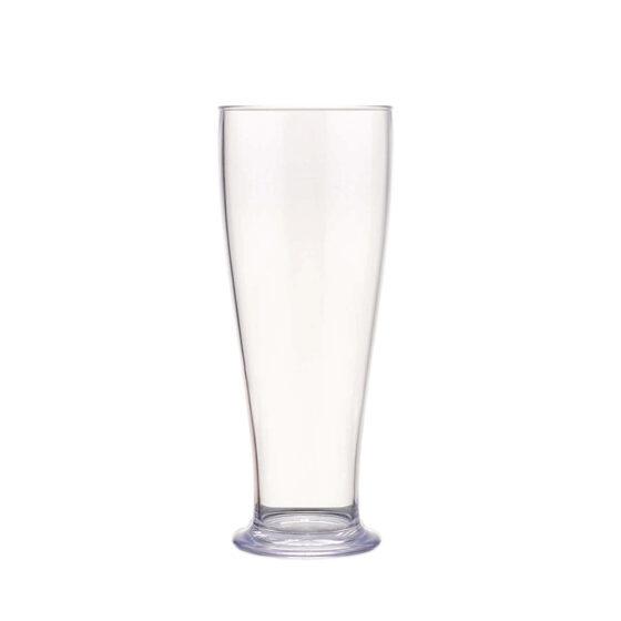 Mehrwegbecher für Bier 500 ml aus Styrol Acrylnitril