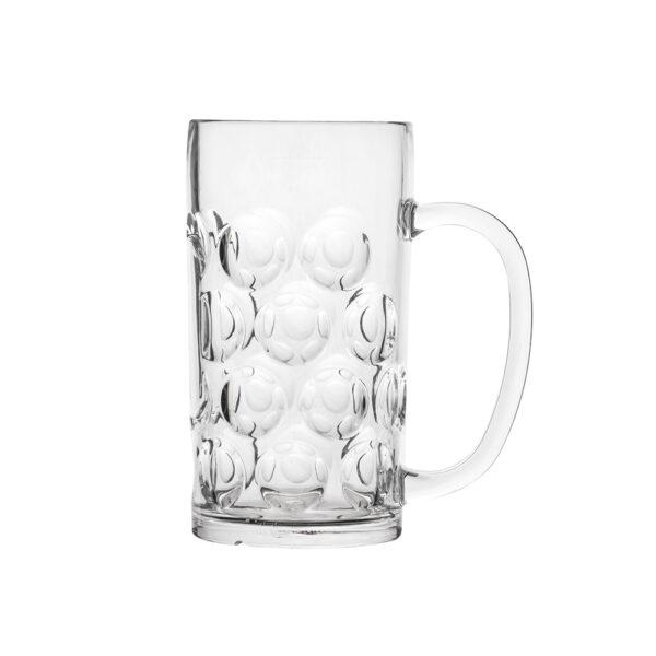 Bierkrug 500 ml aus Polycarbonat