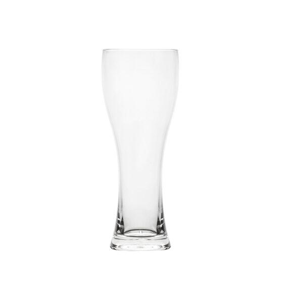 Weizen-Bierglas 500 ml aus Styrol Acrylnitril