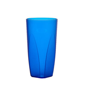 Cocktailglas 250 ml in blau aus SAN