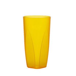 Cocktailglas 250 ml in gelb aus SAN