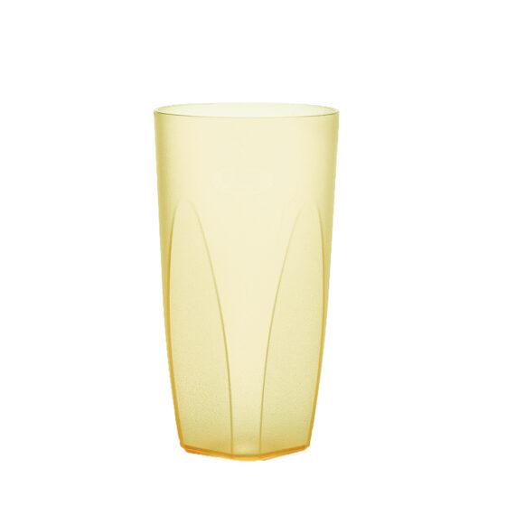 Cocktailglas 250 ml in gelb hell aus SAN