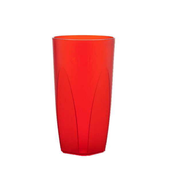 Cocktailglas 250 ml in rot aus SAN