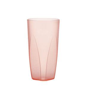 Cocktailglas 250 ml in rot hell aus SAN