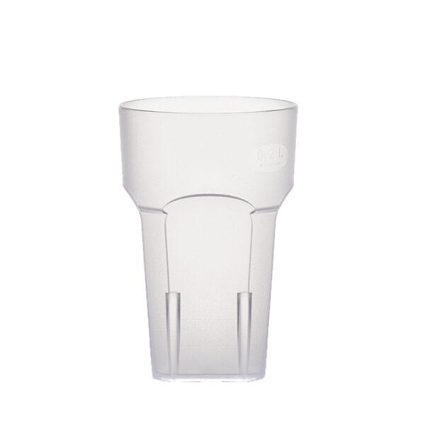 Wasserglas, Cocktailglas, Longdrinkglas 200 ml aus SAN