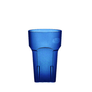 Wasserglas, Cocktailglas, Longdrinkglas 200 ml blau aus SAN