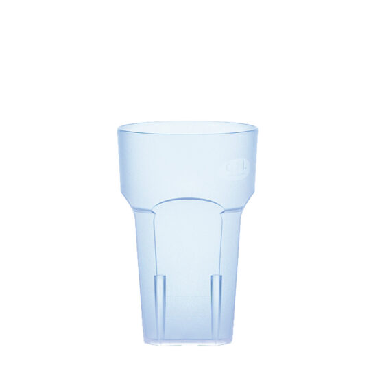 Wasserglas, Cocktailglas, Longdrinkglas 200 ml blau hell aus SAN