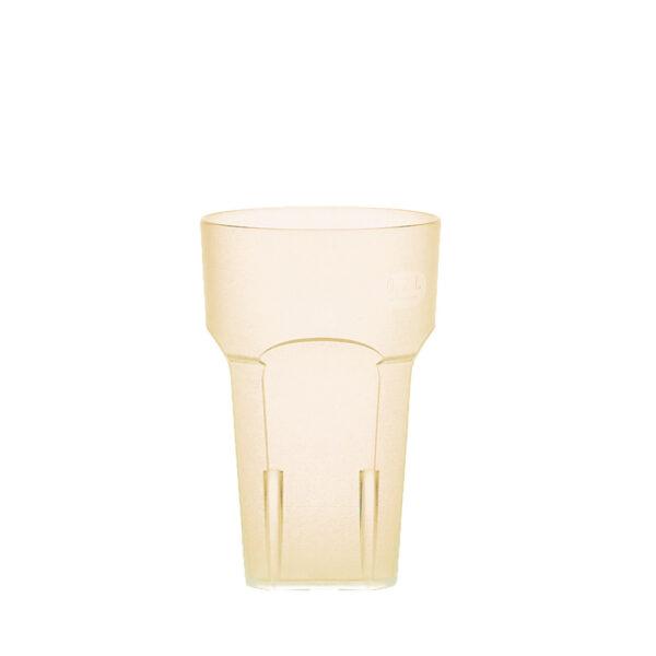 Wasserglas, Cocktailglas, Longdrinkglas 200 ml gelb hell aus SAN