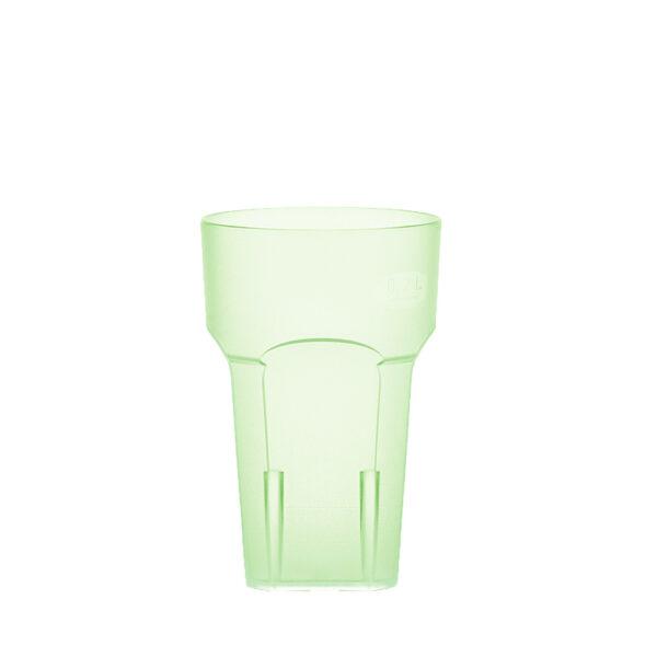 Wasserglas, Cocktailglas, Longdrinkglas 200 ml grün hell aus SAN