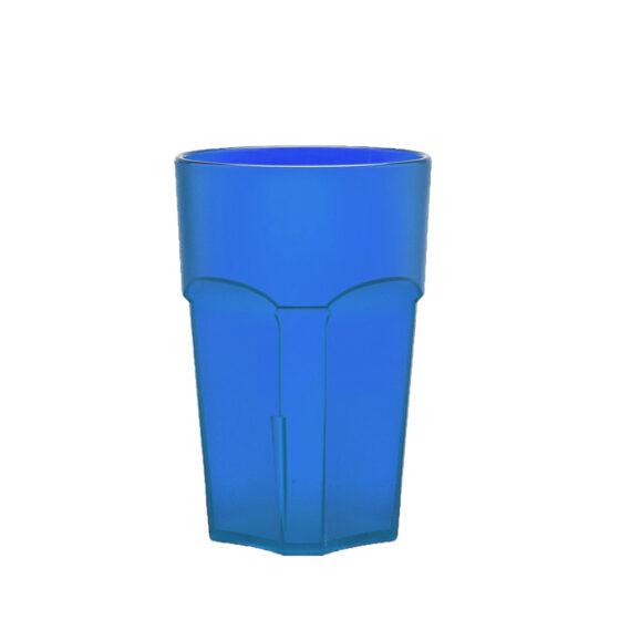 Wasserglas, Cocktailglas, Longdrinkglas 300 ml blau aus SAN