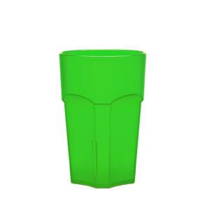 Wasserglas, Cocktailglas, Longdrinkglas 300 ml grün aus SAN