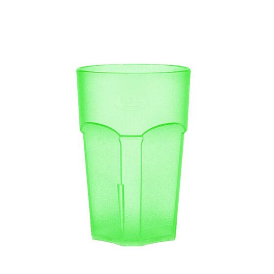Wasserglas, Cocktailglas, Longdrinkglas 300 ml grün hell aus SAN