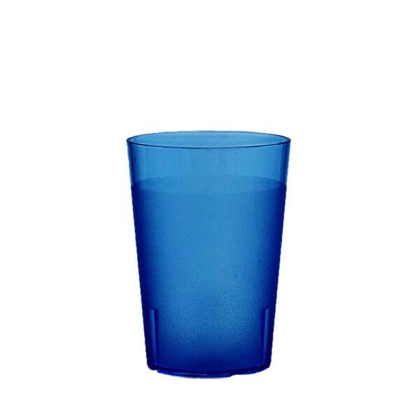 Trinkbecher 200 ml blau aus SAN