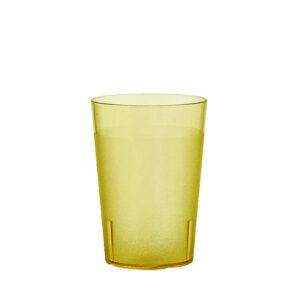 Trinkbecher 200 ml gelb aus SAN