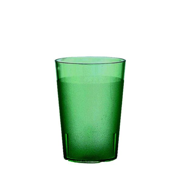 Trinkbecher 200 ml grün aus SAN