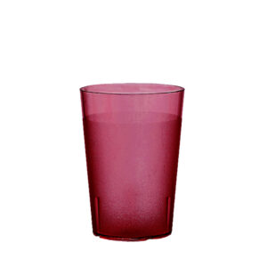 Trinkbecher 200 ml rot aus SAN