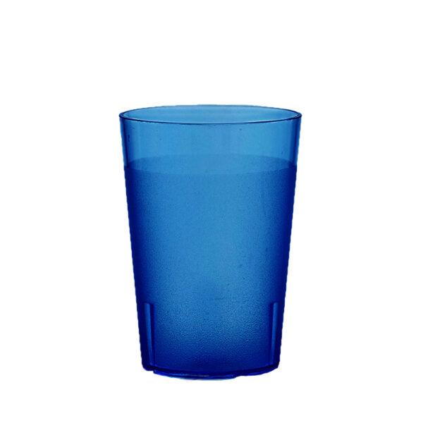 Trinkbecher 300 ml blau aus SAN