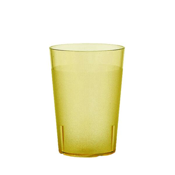 Trinkbecher 300 ml gelb aus SAN