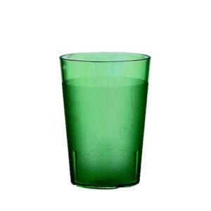 Trinkbecher 300 ml grün aus SAN