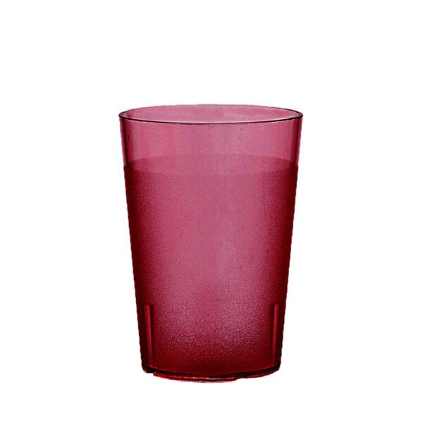 Trinkbecher 300 ml rot aus SAN
