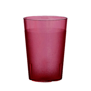 Trinkbecher 400 ml rot aus SAN