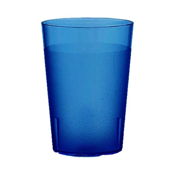 Trinkbecher 500 ml blau aus SAN