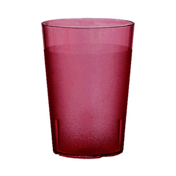 Trinkbecher 500 ml rot aus SAN