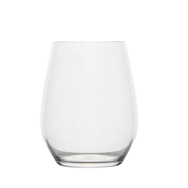 Bauchiges Trinkglas 400 ml aus Polycarbonat