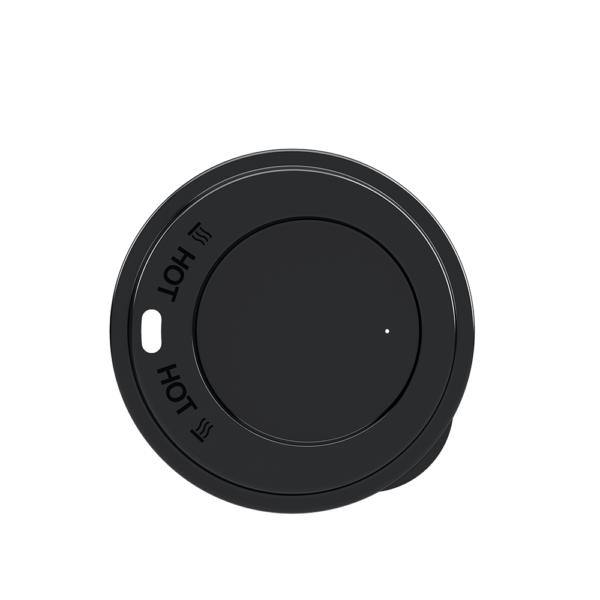 Deckel schwarz mit Trinköffnung für CUP Coffee to go